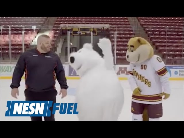 White Bear Mitsubishi >> White Bear Mitsubishi Mascot Keeps Falling In Ad Outtakes